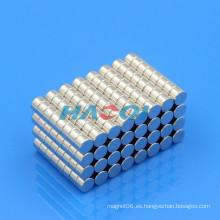 8X5mm níquel cilindro samarium cobalto imán fabricante