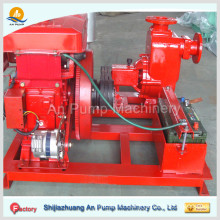 diesel engine driven portable fire pump