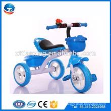 2015 Kinder fahren auf dem Auto Dreirad, Kinder Dreiräder mit Pushbar, 3-Rad-Trike Kinder fahren auf Auto Dreirad