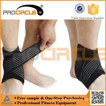 Basketball Training um elastische Knöchel Unterstützung
