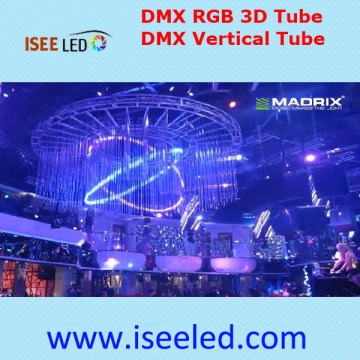 360degree Regardant Dmx Rgb a mené le tube vertical