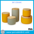 Ceramic Canister Sets Tea Coffee Canisters for Kitchen Canister Set