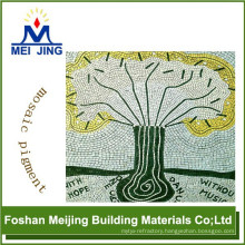 best quality mosaic pigment for ceramic granite floor tiles china manufacture