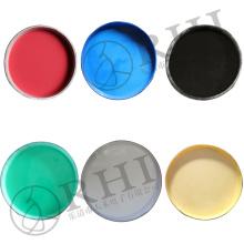 Para fazer líquidos coloridos da matéria prima do PVC dos tampões de extremidade da tubulação