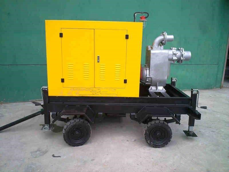 XBC diesel engine self-priming sewage pump 1
