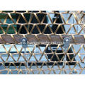 Baki menenun Flat Wire Spiral Woven Mesh for Architecture