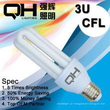 3U Manufaturer de lâmpadas economizadoras de energia na China