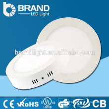 6w/12w/18w/24w Surface Mounted Round Led Ceiling Panel light, LED Panel Downlight