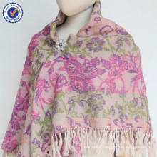 2015 Autumn winter wool flower big size shawl SWW820 ladies winter wool scarf and shawl wholesale