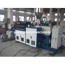 Máquina de extrusión de plástico para la fabricación de gránulos de PVC