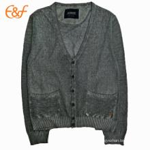 Estilo básico Camisola encapuçado para camisolas para homens