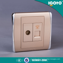 Igoto BS Standard Electric TV+Telephone Wall Socket