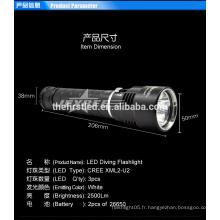 High Standard IP68 Waterproof Diving Light