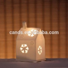 Porcelain House Shape Table Lamp