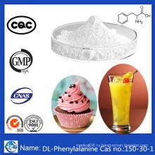 Заводская навальная порошка Аминокислота CAS 150-30-1 Dl-фенилаланин