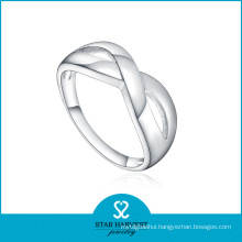 Wholesale Plain 925 Sterling Silver Ring for Discount (R-0494)