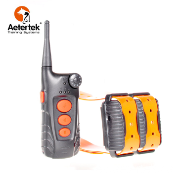 Aetertek AT-918C collar de choque para perros 2 receptores