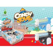 mini gun with sound candy toys
