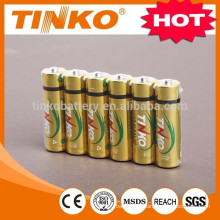 TINKO ALKALINE BATTERY LR6 AA 4pcs/blister OEM welcomed