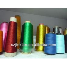 Золотой нитью вышивки ткани