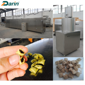Puffed Cereal Core Filled Food Processing Line