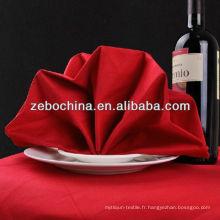 Hot selling design en usine directe fabriqué en ligne de luxe en coton en coton serviettes pour dîner