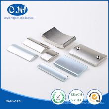 Permanent Rare Earth Tile Shaped Magnet for Magnetic Separator