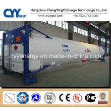 Hochdruckkryogener Flüssigsauerstoff-Stickstoff-Argon-Tankcontainer