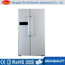 HC-698 Pantalla LED con ahorro de energía, refrigerador, puertas lado a lado