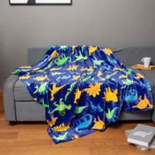 Одеяло для дивана в детской спальне с мультяшным дизайном