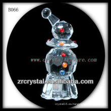 K9 Vivid Crystal Snowman