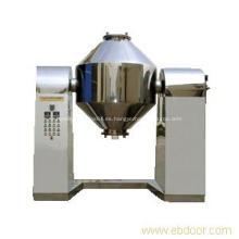 Secador de vacío de doble cono de polvo químico inorgánico