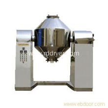 Inorganic Chemical Powder Double Cone Vacuum Dryer