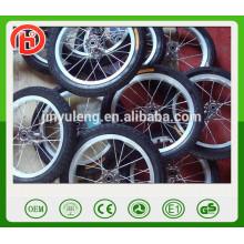 12 14 Zoll Aluminiumlegierung Speichen Fahrrad Rad, Carbon Fahrrad Rad