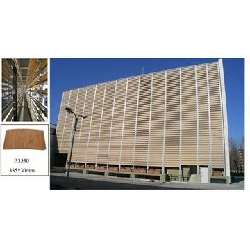 Wood Plastic Composite Solar Shading