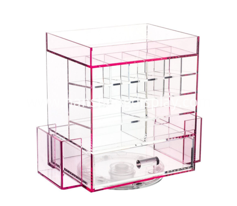 360 Degrees Spinning Makeup Organizer