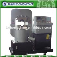 máquina de prensa de cerradura de aluminio