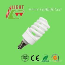 T2 compacto completo espiral 15W CFL, lâmpada de poupança de energia