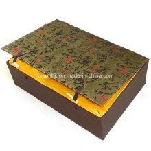 Caja de regalo de papel plegable de encargo / caja de cartón
