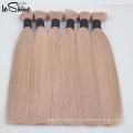 100% Необработанные Европейский Русский Виргинские Remy Человеческих Волос Extensionor Оптом Бразильский Производитель Волос