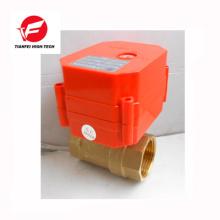 12 v 24 v 110 v ss304 messing CWX-60 P 6nm elektrische wasser absperrventil