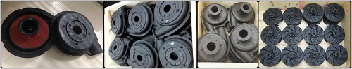 rubber slurry parts