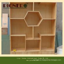 Soporte de exhibición de doble cara del estante del estante del almacén al por menor