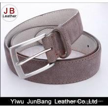Cinturón de ante de cuero genuino para hombre