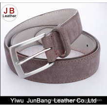 Men′s Genuine Leather Suede Belt