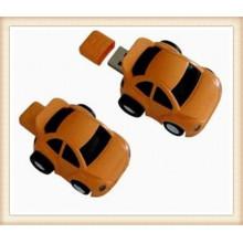 Benutzerdefinierte Logob Brown ABS Auto Form USB Flash Drive (EP054)