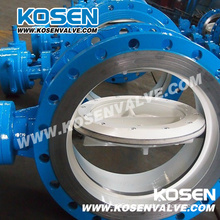 API 609 Gear Box Flanged Butterfly Valves (D343)