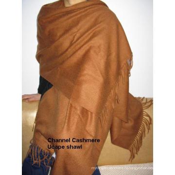 Кашемировый платок с капюшоном