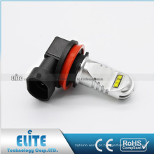 Bulbo branco brilhante da alta potência 750LM F1 da lâmpada 30W do diodo emissor de luz da luz de névoa H8 H9 H10 H11 H16 com CE ROHS