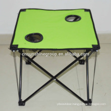 Portable folding camping outdoor table and chairs